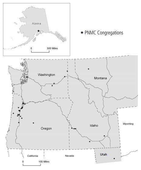 Map of PNMC
